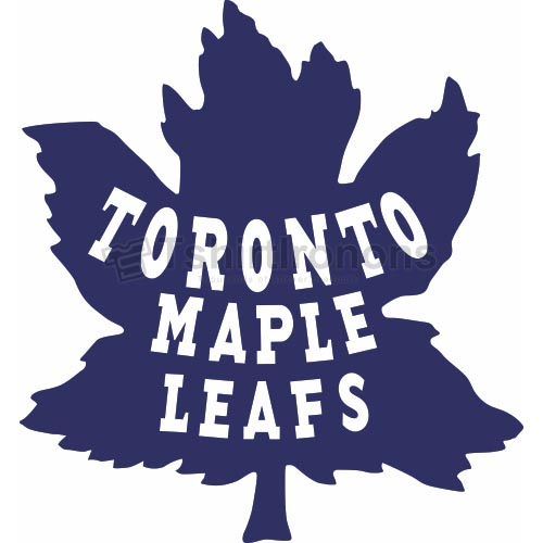 Toronto Maple Leafs T-shirts Iron On Transfers N348