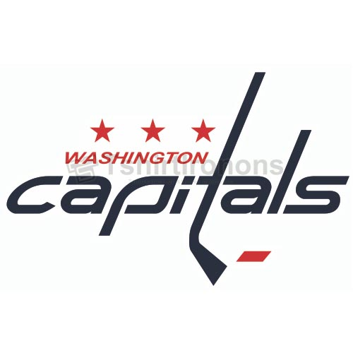 Washington Capitals T-shirts Iron On Transfers N367