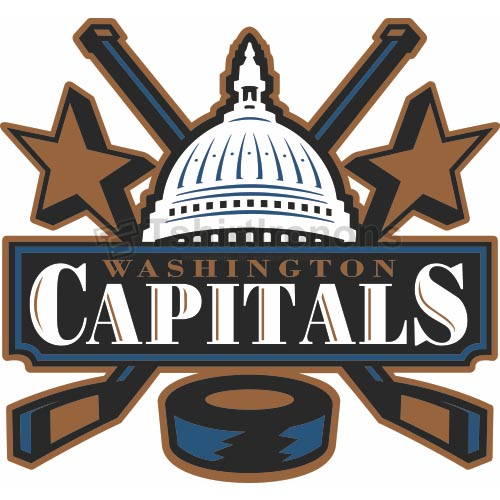Washington Capitals T-shirts Iron On Transfers N368