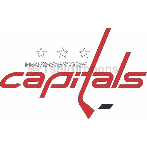 Washington Capitals T-shirts Iron On Transfers N369