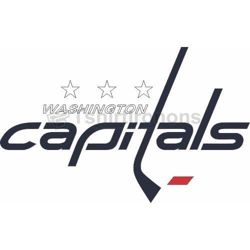 Washington Capitals T-shirts Iron On Transfers N370