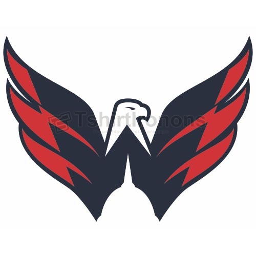 Washington Capitals T-shirts Iron On Transfers N371
