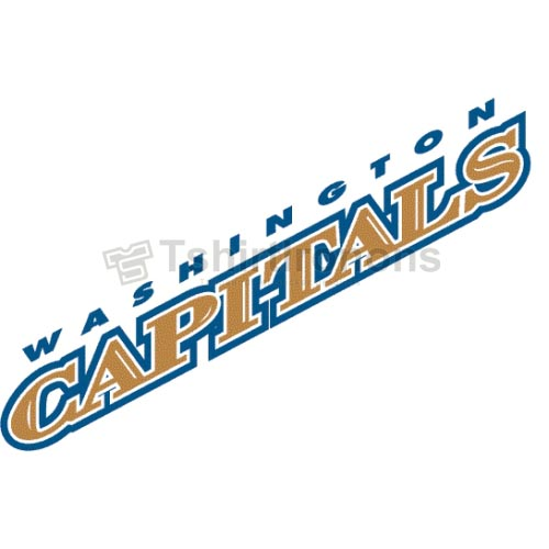 Washington Capitals T-shirts Iron On Transfers N373