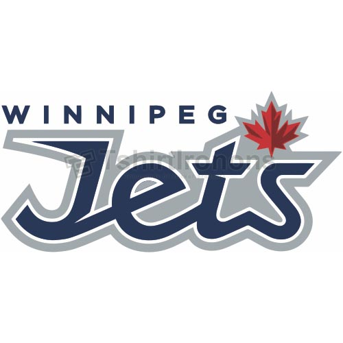 Winnipeg Jets T-shirts Iron On Transfers N377