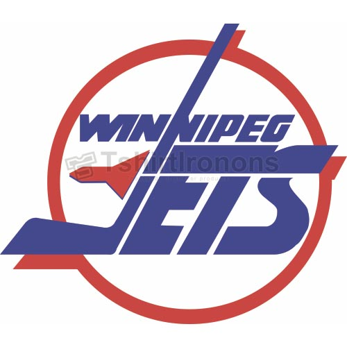 Winnipeg Jets T-shirts Iron On Transfers N378