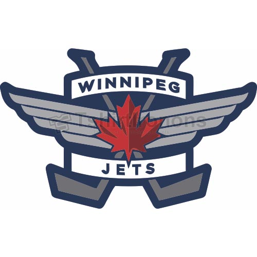 Winnipeg Jets T-shirts Iron On Transfers N379
