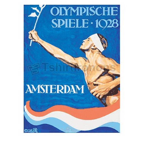 Olympics T-shirts Iron On Transfers N2139