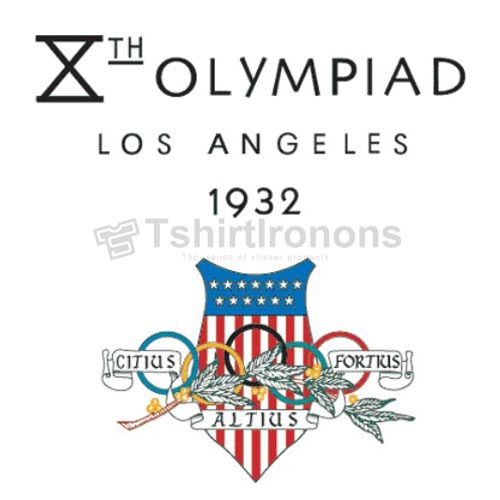Olympics T-shirts Iron On Transfers N2140