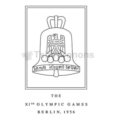 Olympics T-shirts Iron On Transfers N2141