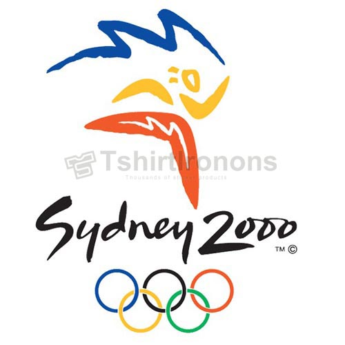 Olympics T-shirts Iron On Transfers N2155
