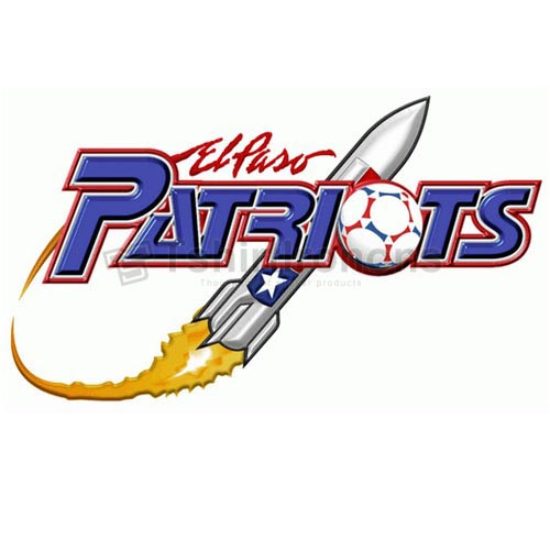 El Paso Patriots T-shirts Iron On Transfers N3183