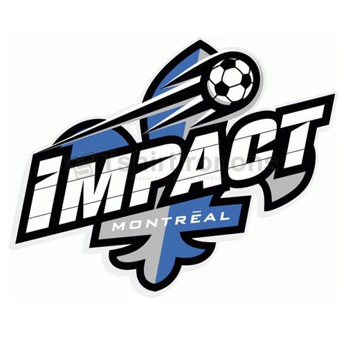 Montreal Impact T-shirts Iron On Transfers N3185