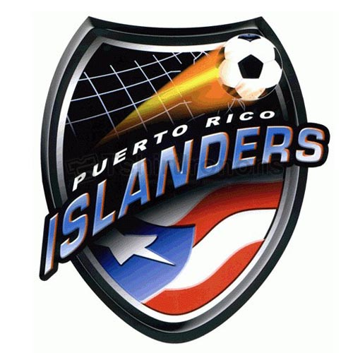 Puerto Rico Islanders T-shirts Iron On Transfers N3187