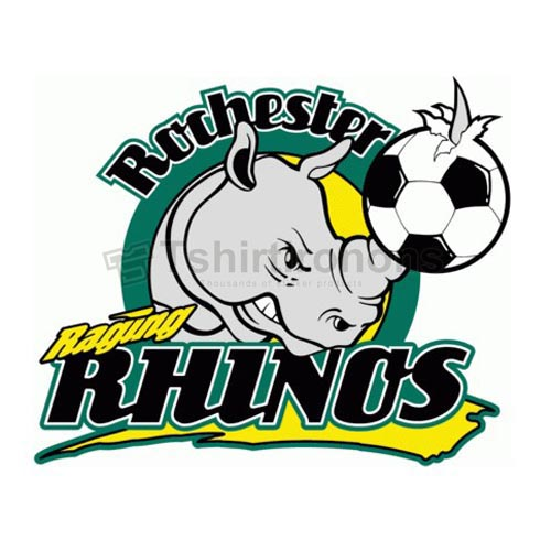 Rochester Raging Rhinos T-shirts Iron On Transfers N3188