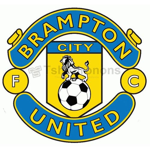 Brampton City United FC T-shirts Iron On Transfers N3208