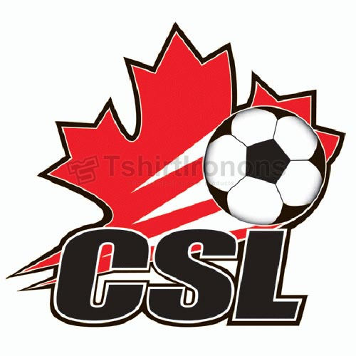 Canadian Soccer League T-shirts Iron On Transfers N3211