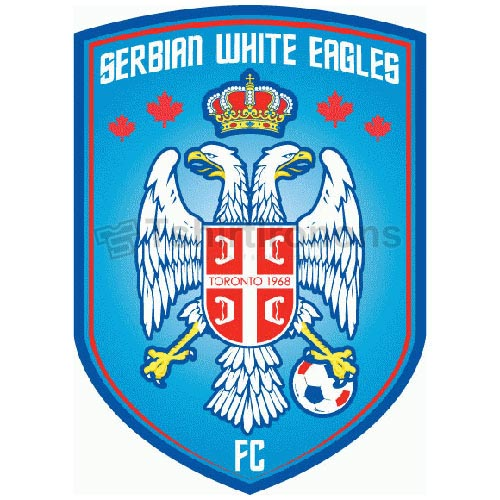 Serbian White Eagles FC T-shirts Iron On Transfers N3217