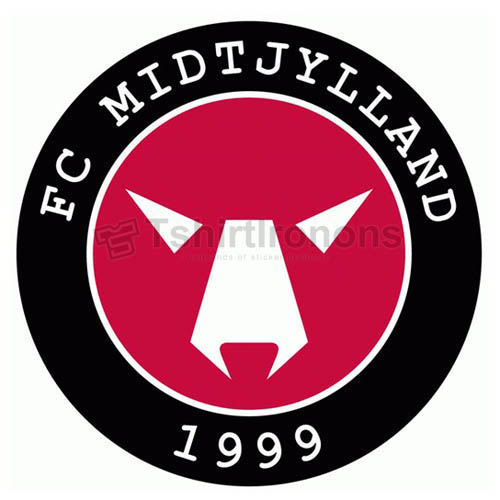 FC Midtjylland T-shirts Iron On Transfers N3226