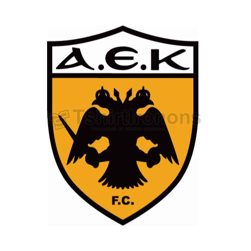 AEK Athens T-shirts Iron On Transfers N3233