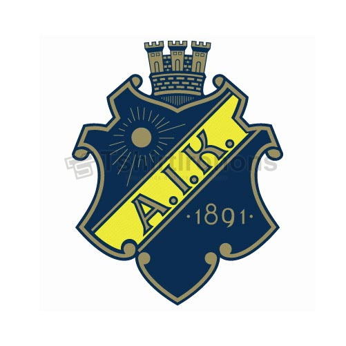 AIK Stockholm T-shirts Iron On Transfers N3234