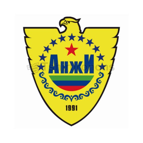 Anzhi Makhachkala T-shirts Iron On Transfers N3237