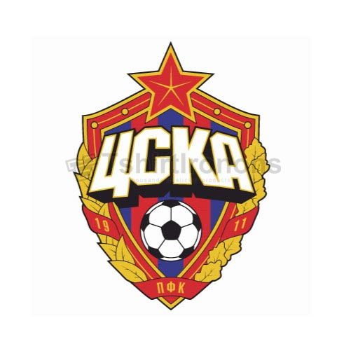 CSKA Moscow T-shirts Iron On Transfers N3249