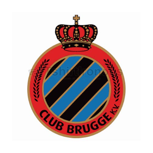 Club Brugge T-shirts Iron On Transfers N3248
