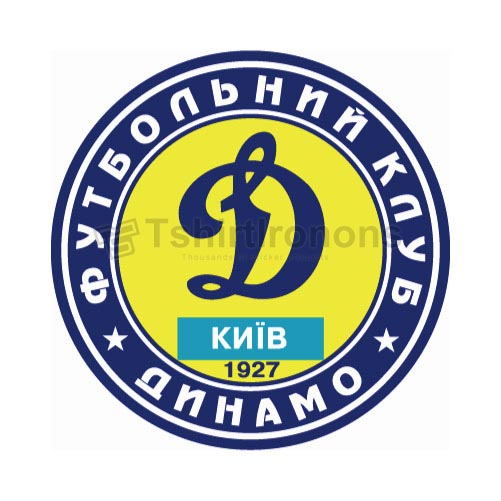 Dinamo Kiev T-shirts Iron On Transfers N3252