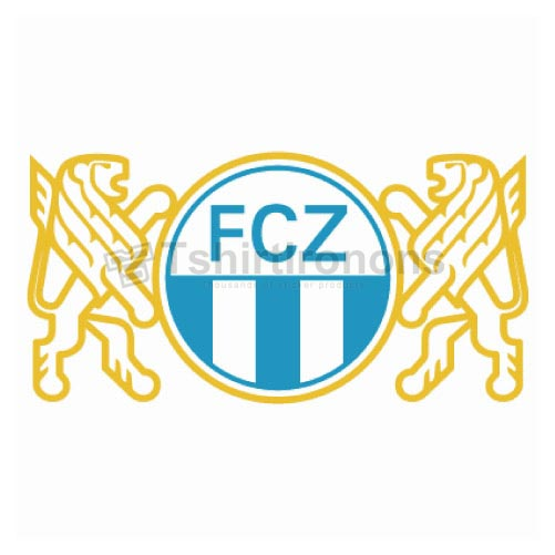 FC Zurich T-shirts Iron On Transfers N3261