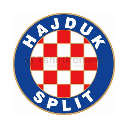 Hajduk Split T-shirts Iron On Transfers N3267