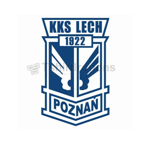 Lech Poznan T-shirts Iron On Transfers N3271