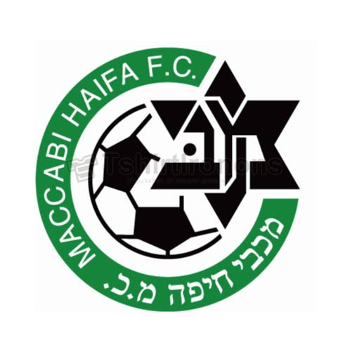 Maccabi Haifa T-shirts Iron On Transfers N3273