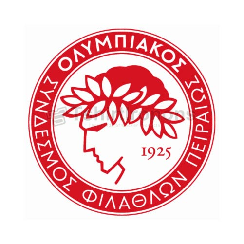 Olympiakos T-shirts Iron On Transfers N3278