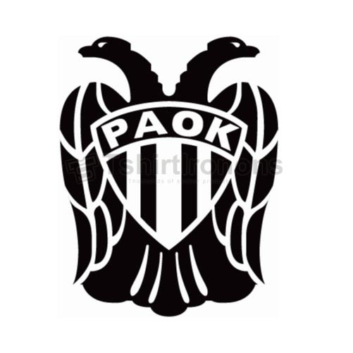 PAOK Thessaloniki T-shirts Iron On Transfers N3280