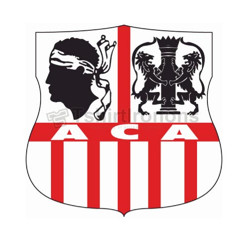 AC Ajaccio T-shirts Iron On Transfers N3304
