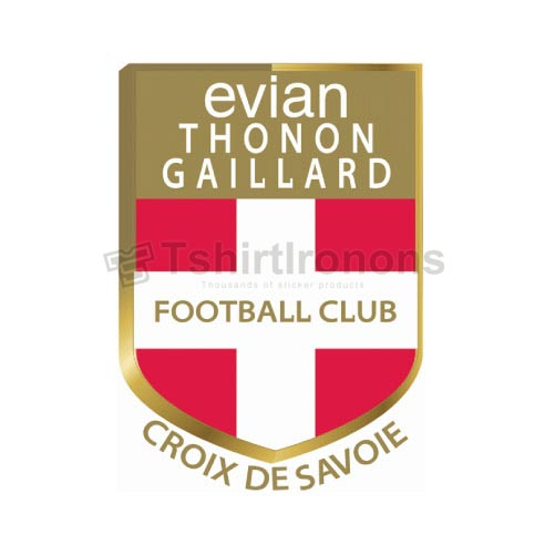 Evian Thoron Gaillard T-shirts Iron On Transfers N3309