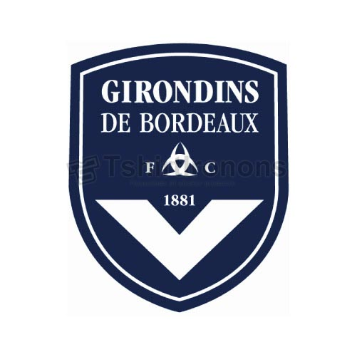 FC Girondins de Bordeaux T-shirts Iron On Transfers N3310