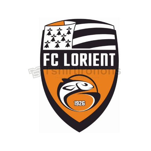 FC Lorient-Bretagne Sud T-shirts Iron On Transfers N3311