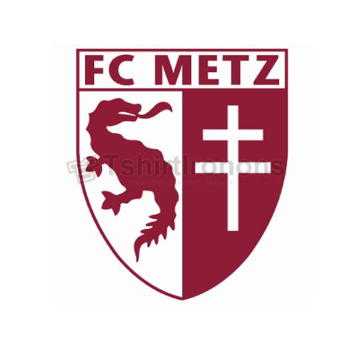 FC Metz T-shirts Iron On Transfers N3312
