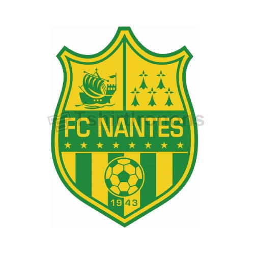 FC Nantes T-shirts Iron On Transfers N3313