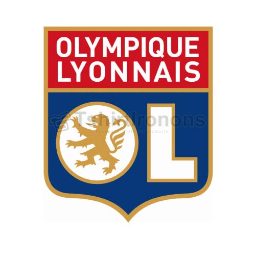 Olympique Lyonnais T-shirts Iron On Transfers N3321