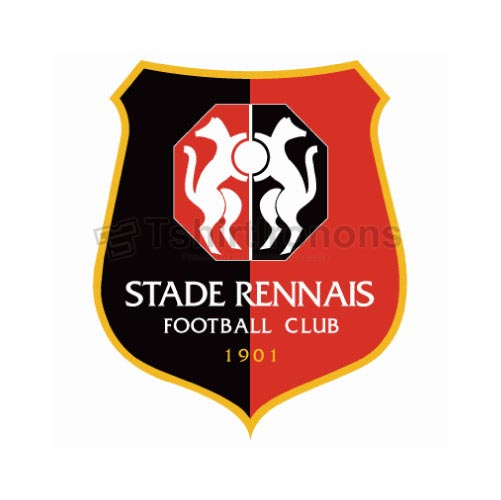 Stade Rennes T-shirts Iron On Transfers N3330
