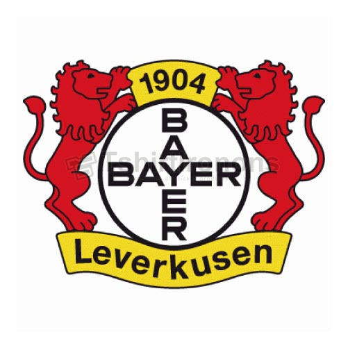 Bayer Leverkusen T-shirts Iron On Transfers N3334