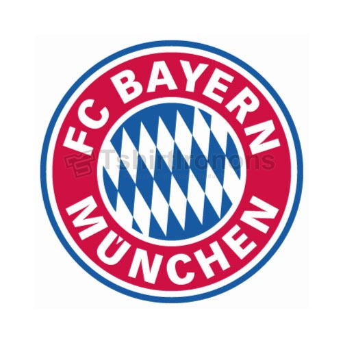 Bayern Munich T-shirts Iron On Transfers N3335