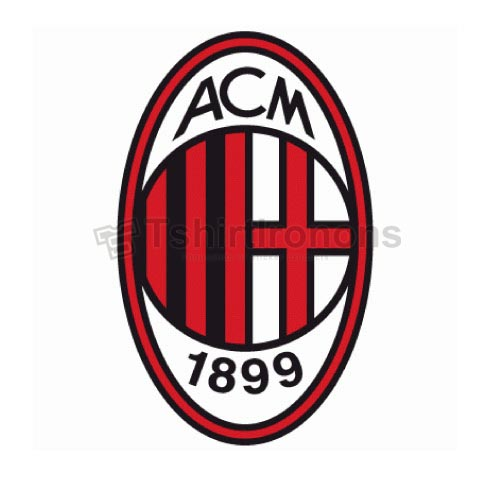 AC Milan T-shirts Iron On Transfers N3354