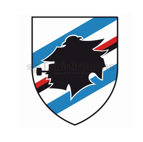 Sampdoria T-shirts Iron On Transfers N3376