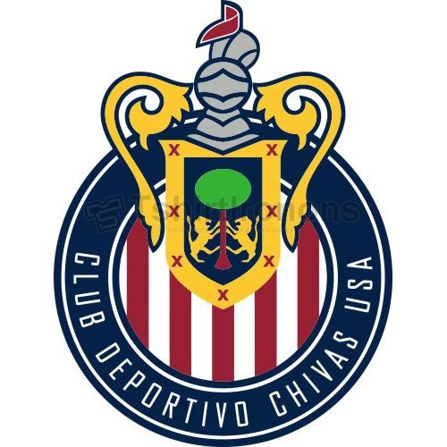 Club Deportivo Chivas USA T-shirts Iron On Transfers N3381