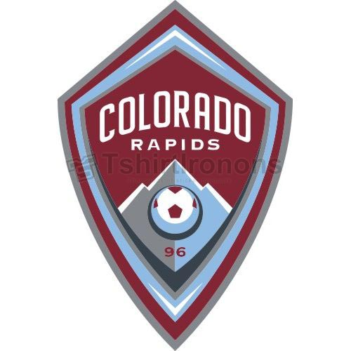 Colorado Rapids T-shirts Iron On Transfers N3382