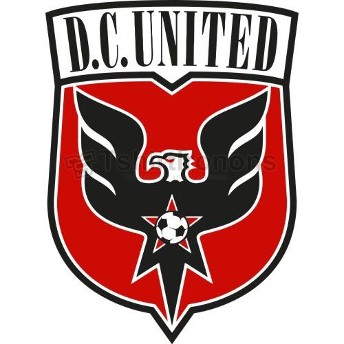 D.C. United T-shirts Iron On Transfers N3384