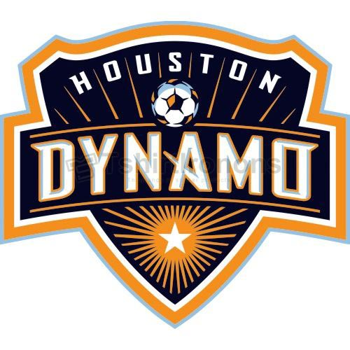 Houston Dynamo T-shirts Iron On Transfers N3386